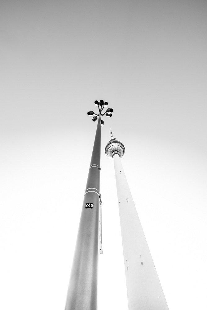 Fotografie Fernsehturm
