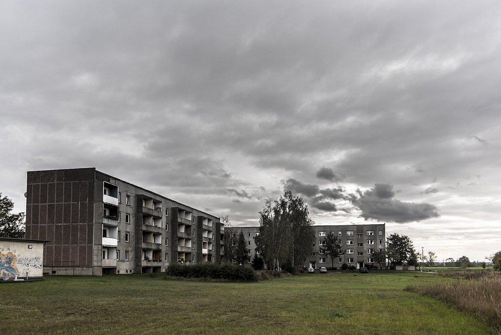 Plattenbauder DDR